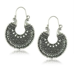 Jewelry - Women Statement Ethnic Jewelry Antique Silver